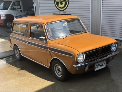 AUSTIN MINICLUBMAN ESTATE写真1